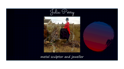 metals4U customer and sculptor, Julia Perry, shows us her latest work.