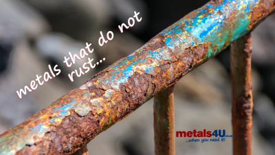 Metals that don't rust