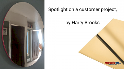metals4U customer Harry Brooks shows us his latest brass project.