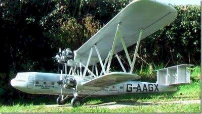 Scale Model Aircraft Handley Page H42 Airliner