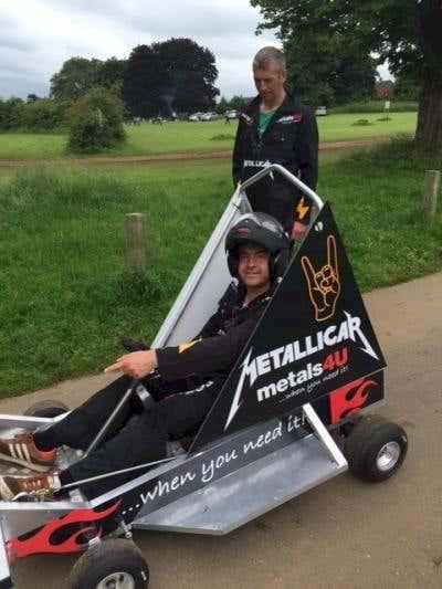 Metallicar makes its debut