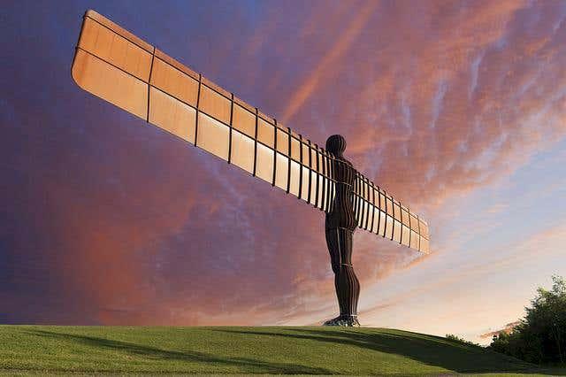 angel of the north metals4U top 10 sculptures