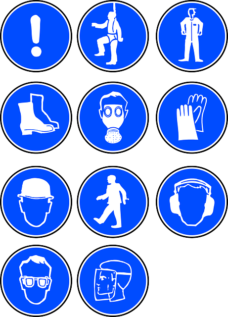 PPE safety sign metals4U