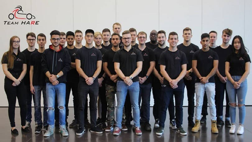 Team Hare university of Huddersfield/metals4U