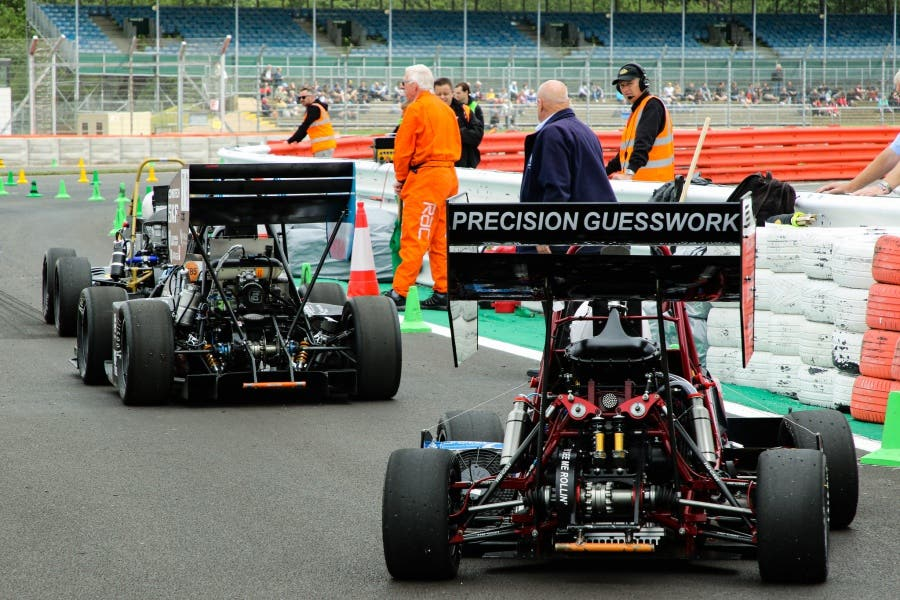 Team HARE 19 take Silverstone by storm. 2