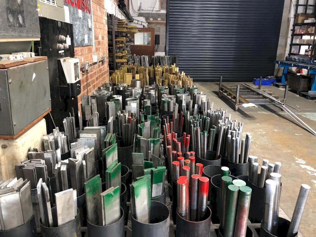 aluminium and steel stock profiles at metals4U
