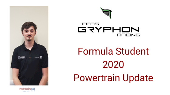 Gryphon Racing FS2020 sponsorship-powertrain progress