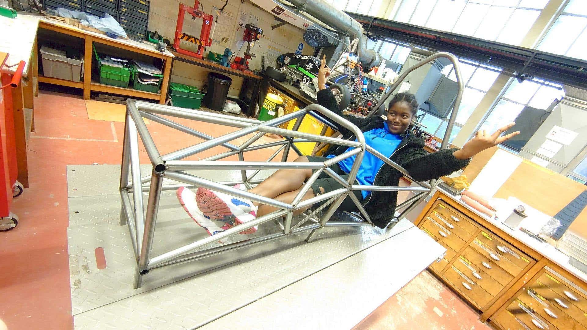 Gryphon chassis metals4U steel tube